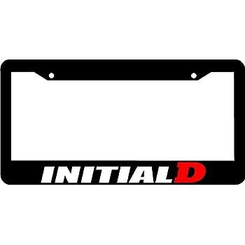 Amazon.com: Initial D Tofu Shop Funny Car License Plate Frame JDM ...