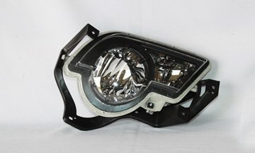 02-06 Chevy Avalanche Replacement Fog Light Assembly (With body cladding) - Passenger Side