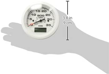 35 MPH GPS Speedometer Sierra International 781-683-035P Scratch Resistant Arctic Gauge 3