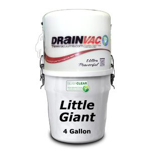 Drainvac Little Giant Central Vacuum