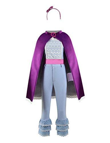 Toy bo-peep Rose red Cloak Full Set Cosplay Costume Halloween (Big Girls 10, Set 1)]()