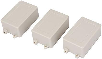 Caso elétrica DealMux - Caixa de junçao (3 piezas, 70 milímetros x 45 milímetros x 30 mm): Amazon.es: Electrónica