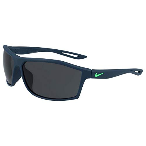 ff79ca60af Nike EV1010-430 Intersect Frame Dark Grey Lens Sunglasses, Matte Space  Blue/Rage