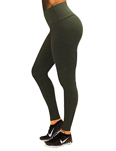 yoga pants green - 4