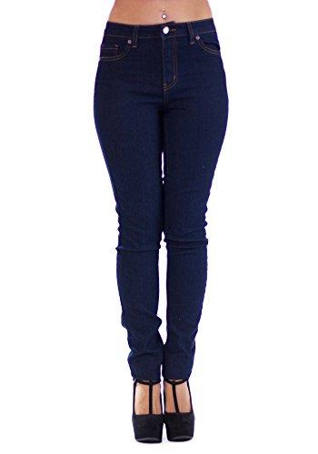 Sidecca Highwaist Skinny Jeans-Dark-1