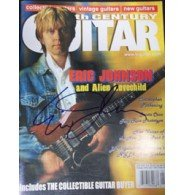 Signed Johnson, Eric Guitar Magazine 1/2001 autographed by Powers Collectibles