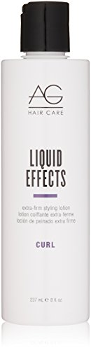 AG Hair Curl Liquid Effects Extra-Firm Styling Lotion 8 fl. oz. (Extra Strength Formula Hair Serum)