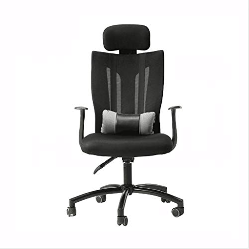 Office Chair, High Back Large Seat and Tilt Function Executive Swivel Reclining Computer Desk Chair Breathable Mesh (Size : Comfort Version) ()