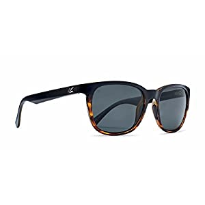 Kaenon Adult Calafia Polarized Sunglasses, Matte Black / Tortoise / Grey 12, One Size