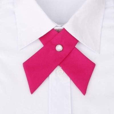 JEOSNDE Mantieqiangway Lazo Cruzado Collar Hombres Formal Sólido ...