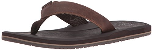 Reef Machado Night Brown, Chanclas Para Hombre Marrón (Brown Bro)