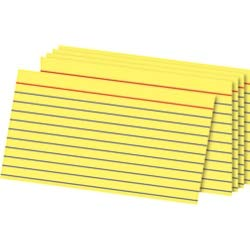 Officemax Index Cards - OfficeMax Ruled Index Cards, 3