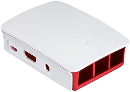 Frambuesa Caja Oficial para el Raspberry Pi 2 Modelo B + (blanco y frambuesa): Amazon.es: Informática