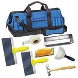 Westward 13A767 Drywall Apprentice Kit, 7 Pc