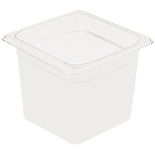 Cambro 66CW148 Camwear Food Pan plastic 1/6-size 6