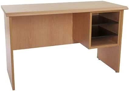 Mahmayi Bess Side Extension Unit Desk, 64 x 45 x 103 cm, Belgian Beech, BG103