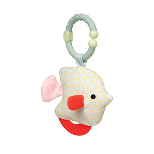 Manhattan Toy Under The Sea Fish Teether & Crinkle Travel Toy