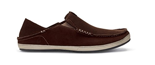 OluKai Men's Kauwela Dark Wood/Silt 7 D US