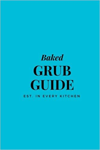Baked Grub Guide: 6x9 Blank Recipe Journal to Write in, Tiffany Blue ...