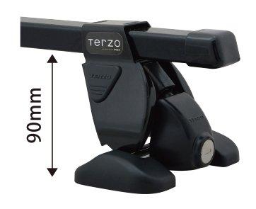 TERZO ミツビシ コルトRALLIART Version-R H14.11~ Z2#A 品番:EF37/EB1/EH155 ベースキャリア 1台分セット B071K5QXDQ