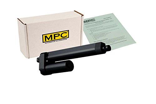 MPC 3619 Heavy Duty Linear Actuator, 12V  DC,  8 Stroke, 770 lb. Max Load, Black Finish