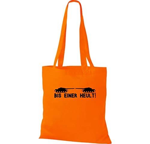 Shirtinstyle Plástico Amarillo Bolsa Color Bis Tanque Einer Heult Varios Naranja rrwPqdTZ8