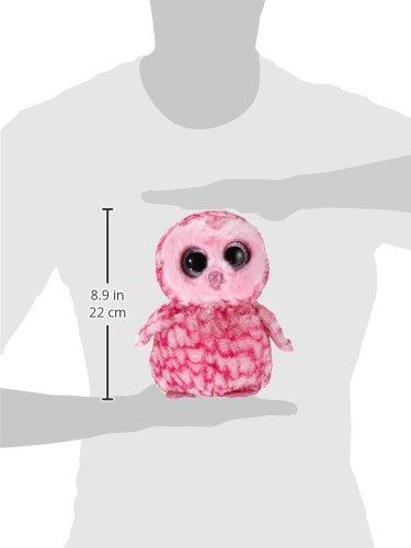 Ty - Pinky, peluche búho, 23 cm, color rosa (36994TY): Amazon.es: Juguetes y juegos