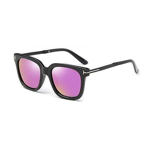 Color Purple Powder Ice polarizadas los de Marea miopes de Sunglasses Conductor de Gafas Sol Sol Ojos Hombres Retro Conductor Gafas de Blue Sol Gafas qFwxBwp