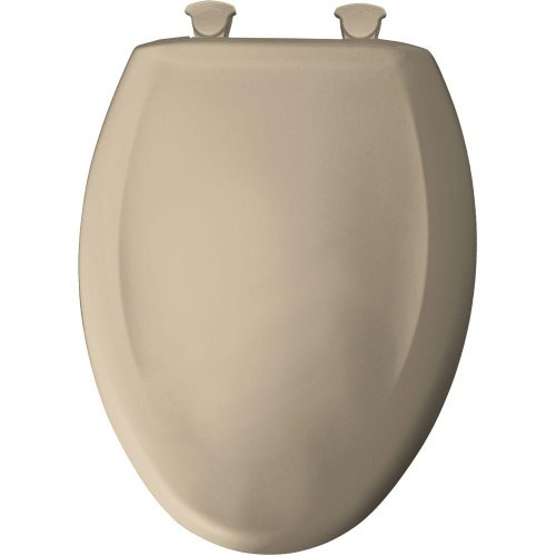 (Bemis 1200SLOWT 788 Lift-Off Plastic Elongated Slow-Close Toilet Seat Sandbar)