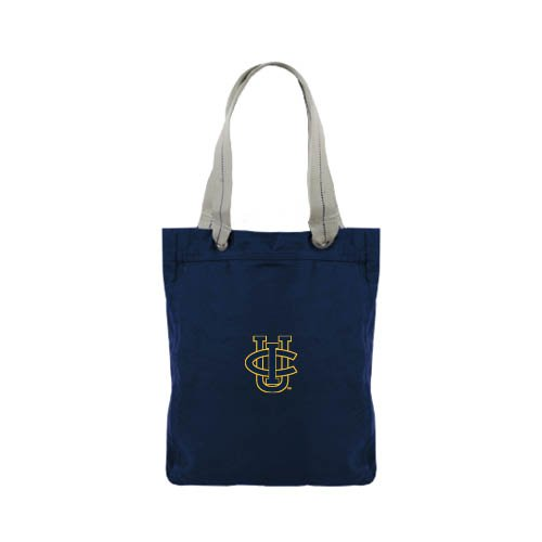UC Irvine Allie Navy Canvas Tote 'Official Logo' by CollegeFanGear