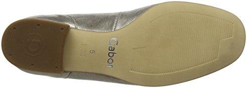 62 Shoes Gabor 103 Mujer Bailarinas 66 Plateado Mutaro 0wwTqfda