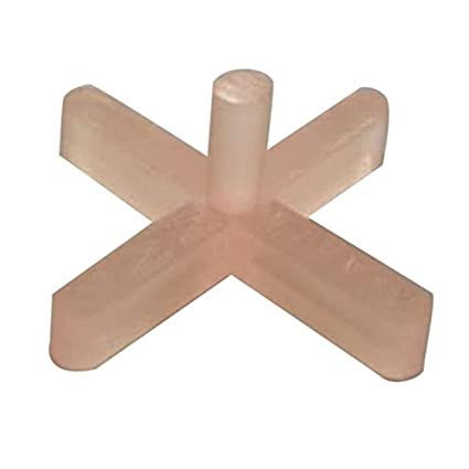 Super Ajanta Plastic Tiles Spacers, Size: 3mm,(285 Pcs.)