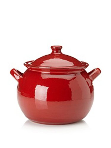 Terafeu-4-Quart-Round-Casserole-with-Lid-Piment-Red
