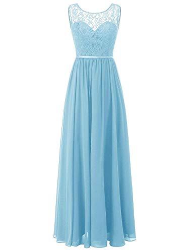 Vestido De Mujer Fiesta Dama La A Noche Honor Largo Jaeden Línea Azul pASqdxp