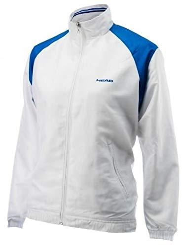 HEAD tennis jacket Club Cooper junior white//blue size 116