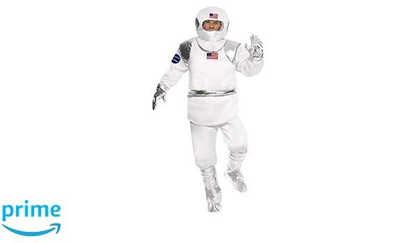 SmiffyS 21103M Disfraz De Astronauta Con Top, Pantalones ...