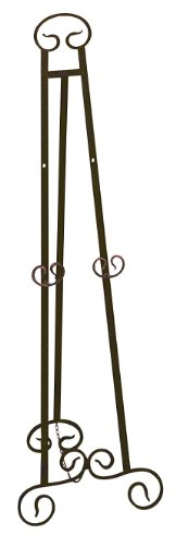 Large Floor Easel - Deco 79 21606 Metal Easel Adjustable 51