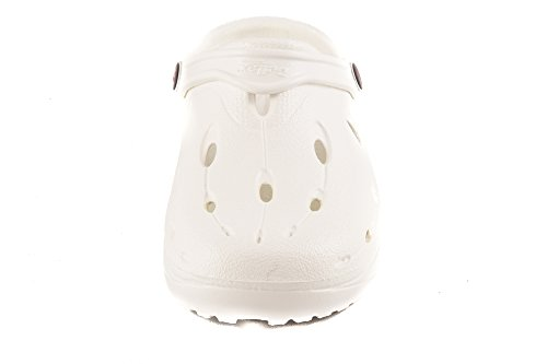 Shibit DUX 7900010 Adults amp; Clogs Shi Chung Set Shoe White Unisex Mules 54qXwWt