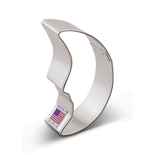 Ann Clark Man in the Moon Cookie Cutter - 3 Inches - Tin Plated Steel