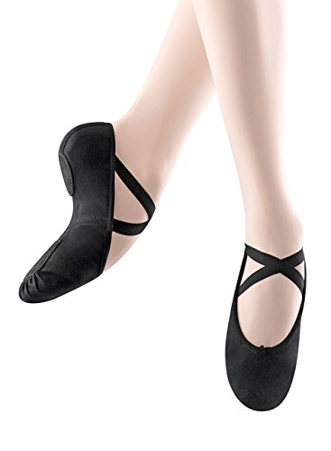 Zenith Port (Bloch Dance Womens Zenith Ballet Flat, Black, 3 B US)