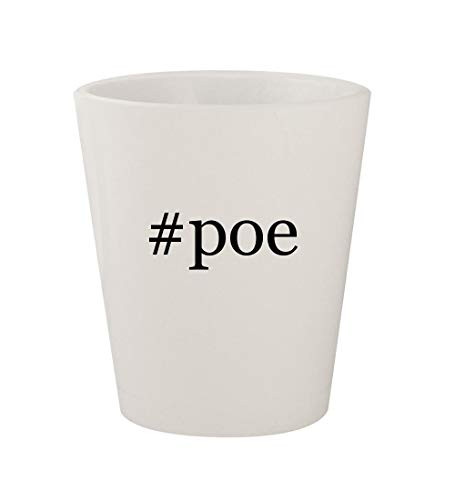 Price comparison product image #poe - Ceramic White Hashtag 1.5oz Shot Glass