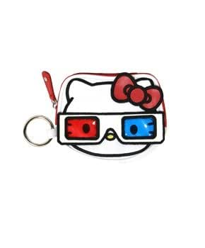 Amazon.com: Coin Bag – por Sanrio – Monedero hello kitty 3d ...