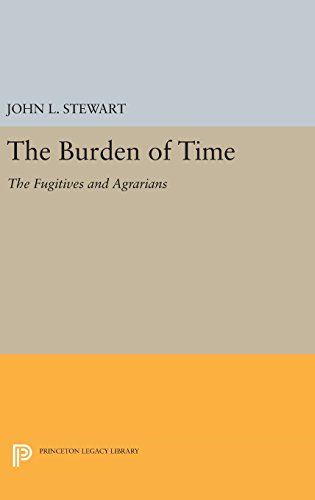 The Burden of Time – The Fugitives and Agrarians