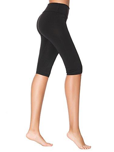 Yoga Capris Pants for Women,3/4 Workout Running Dry Wicking Yoga Capris Leggings