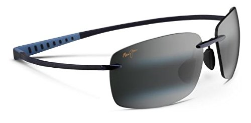Maui Jim Kumu 724-06 Blue Frame / Neutral Grey - Titanium Sport Jim Maui