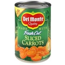 Del Monte Slice Carrots 14.5 oz (Pack of - Monte Hours Del