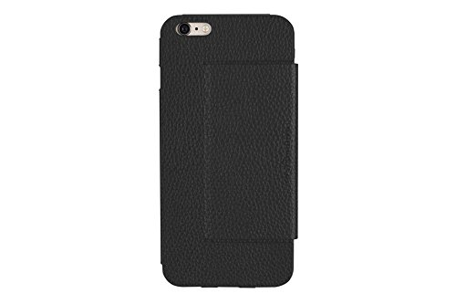 Just Mobile LC-268BK Quattro Folio Leder Schutzhülle für Apple iPhone 6/6s schwarz