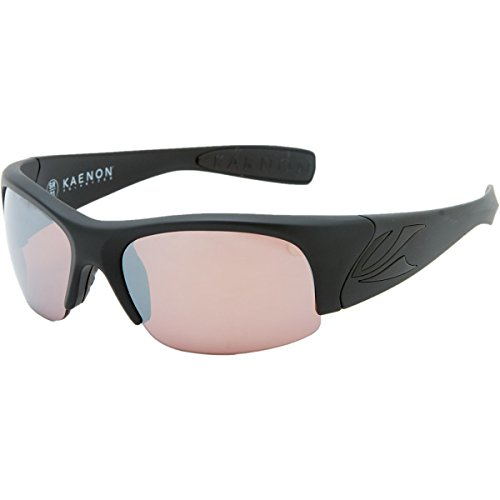 Kaenon Hard Kore Polarized Sunglasses,Matte Black Frame/C12 Lens,Regular - Kaenon Kore Sunglasses