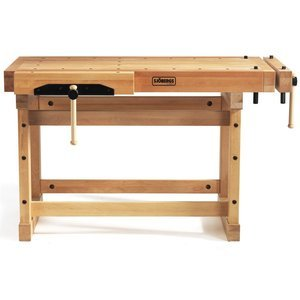 Sjobergs 33246 1500 Elite Woodworkers Beech Workbench, With Two Large Vices and Endless Options