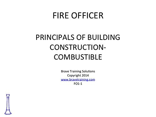 amazon com fire officer combustible building construction ppt